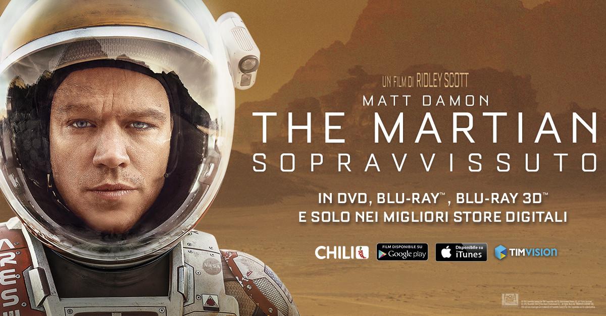 Infinity Sopravvissuto The Martian