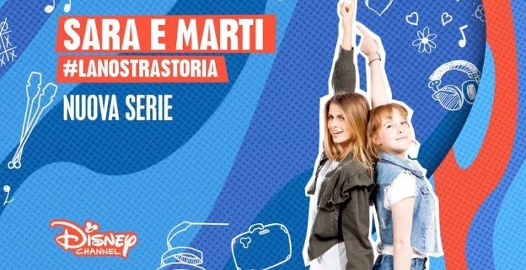 Sara e Marti #LaNostraStoria dal 5 febbraio su Disney Channel
