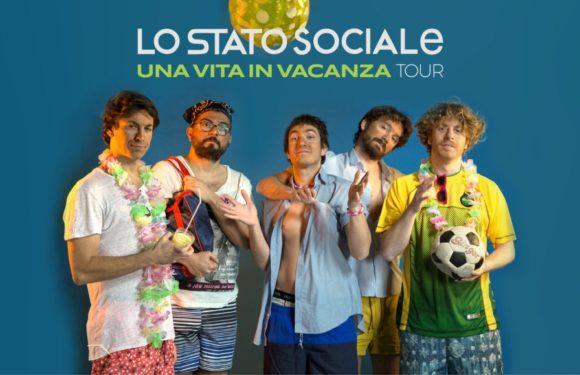 Una vita in vacanza: il tour de Lo Stato Sociale